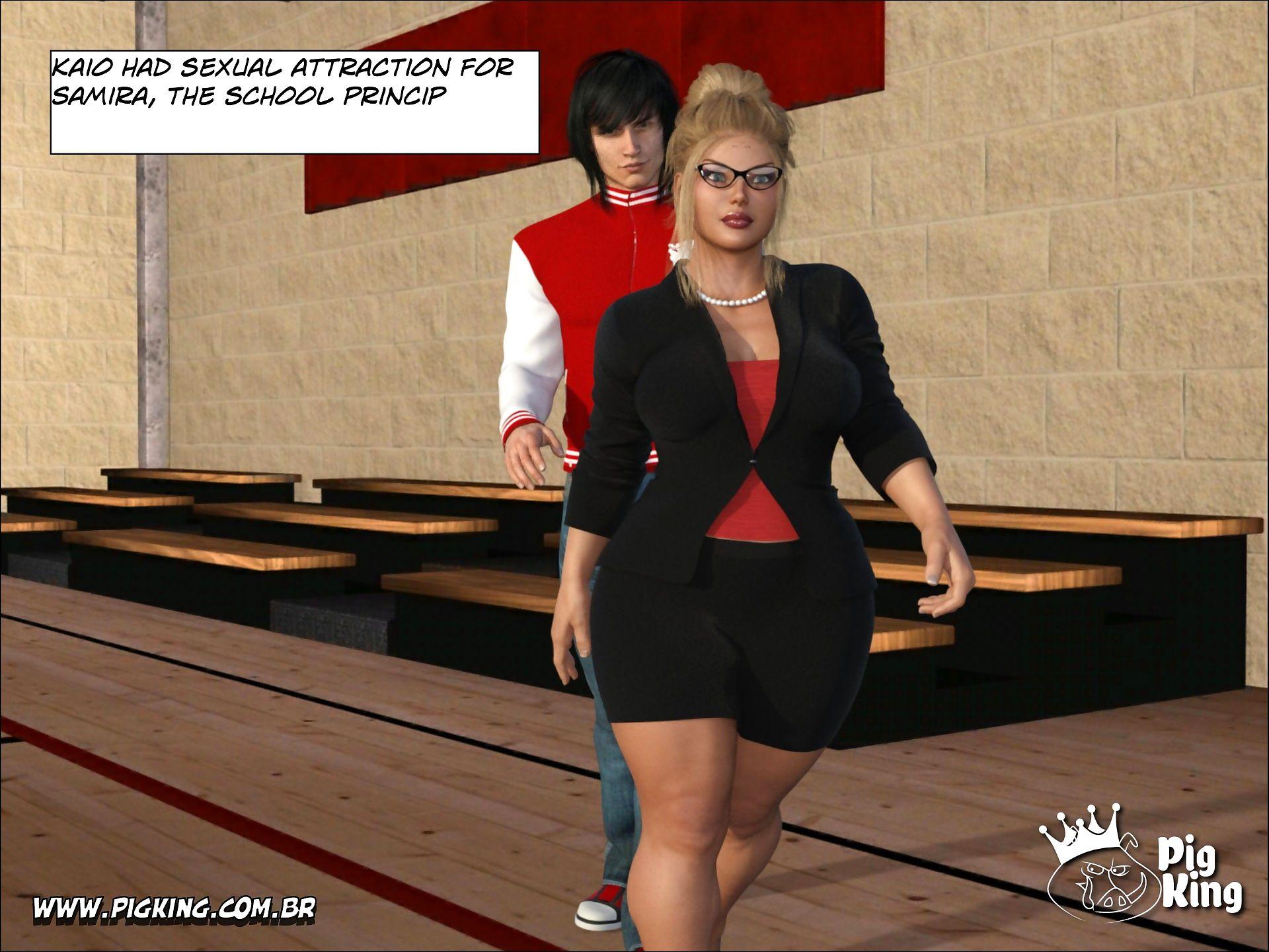 Pig King- Samira In- Insatiable School Principal