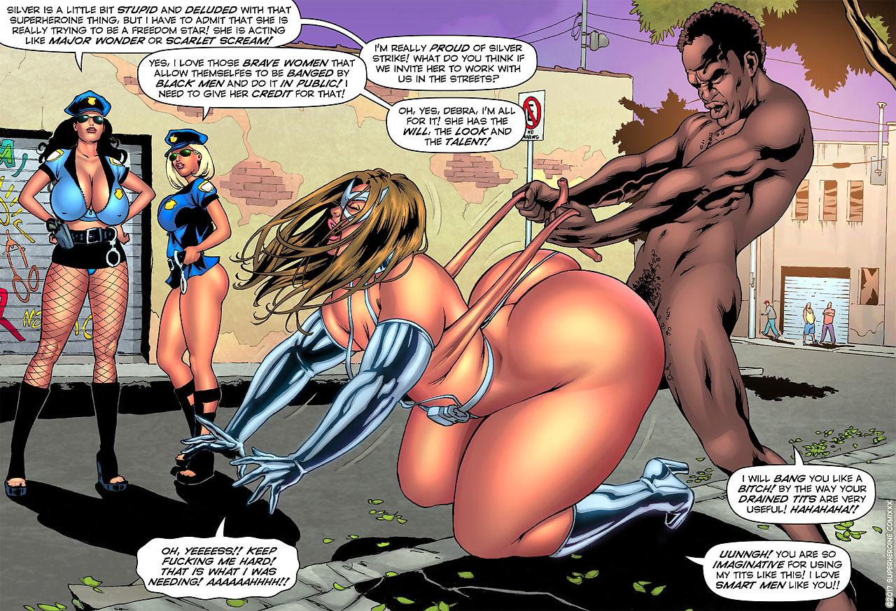 SuperHeroineComixxx- Drained Tits- Silver Strike