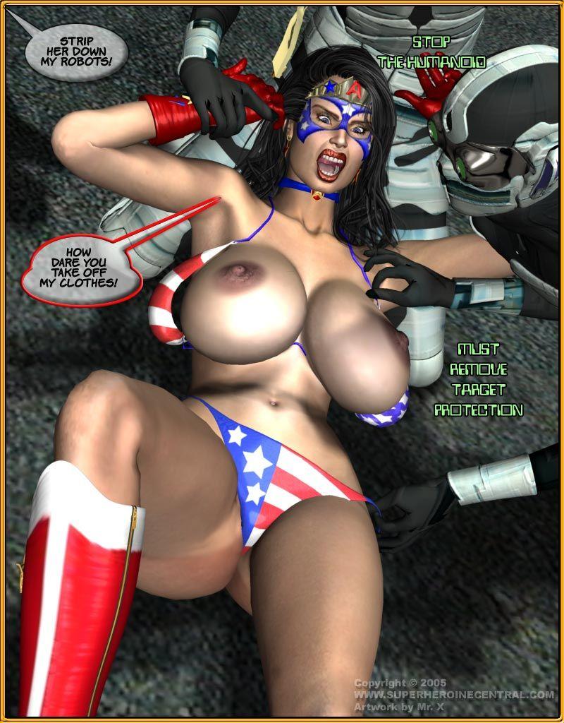 Miss Americana vs Geek II – 3D-Smart Weapon