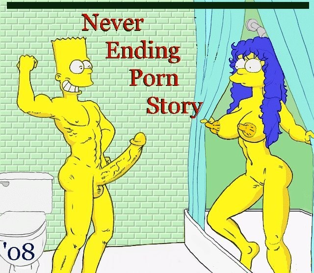 Never Ending Porn Story (Simpsons)