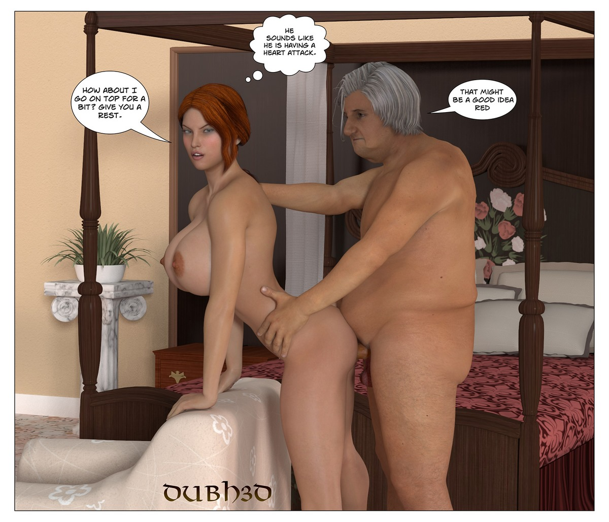 Dubh3D- Red Dirty Old Man