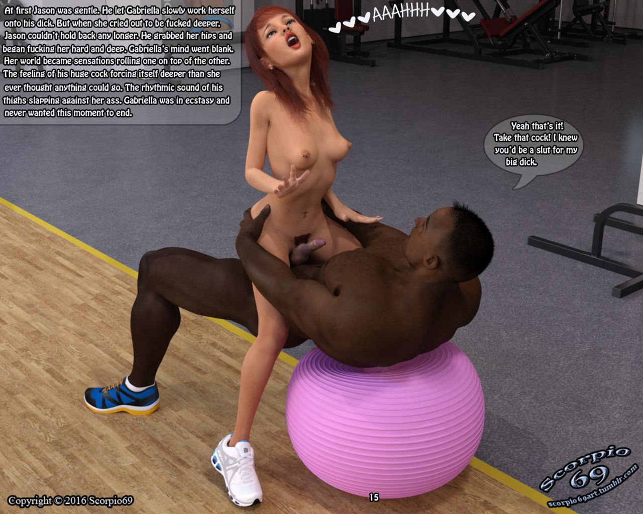 The Gym Encounter- Taboo Tales - part 2