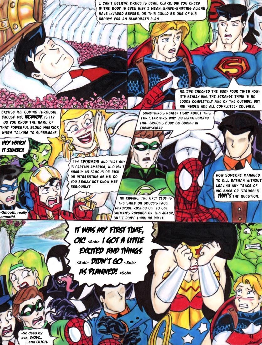 Date Me..Now Saga- Wonder Woman
