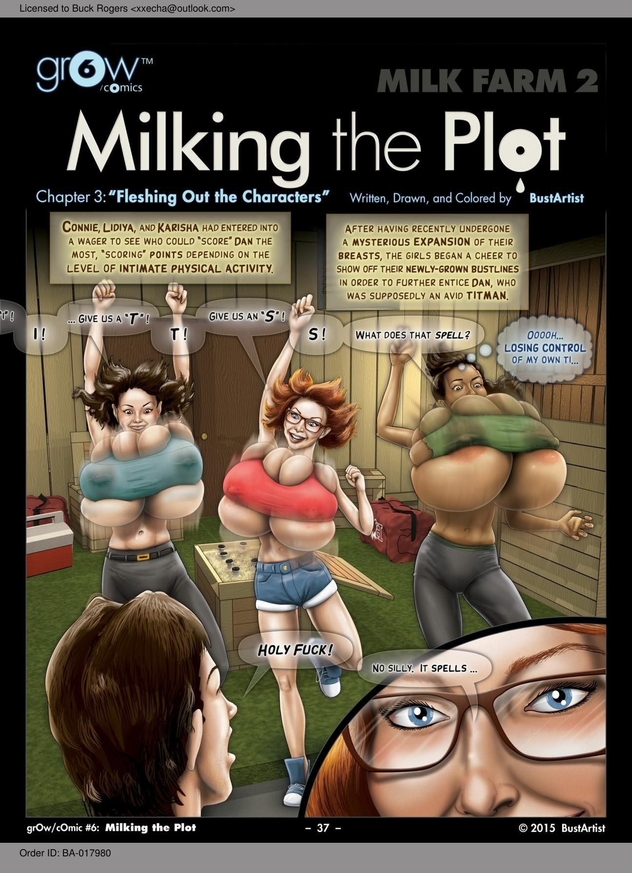 Gr0W 6.3- Milking the Plot