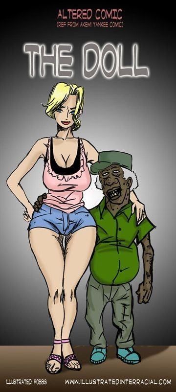 The Doll- Illustrated Interracial