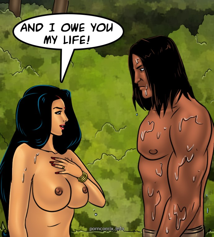 Savita Bhabhi 67- Jungle Love - part 9