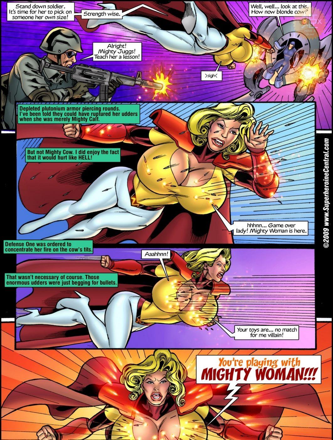 Superheroine Central- Mighty cow