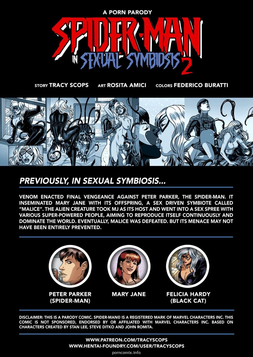 Spider-man Sexual Symbiosis 2