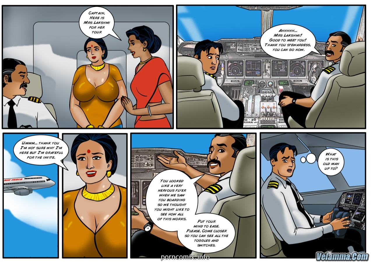 Velamma- Cocks in the cockpit