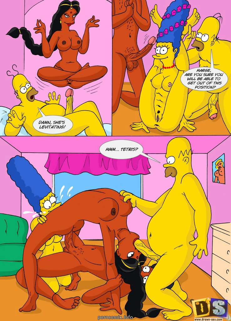 The Simpsons - Kamasutra Picnic