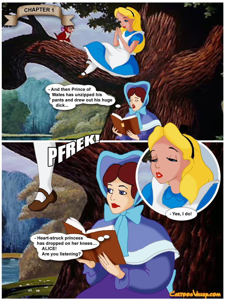 Alice in Wonderfuckers Land