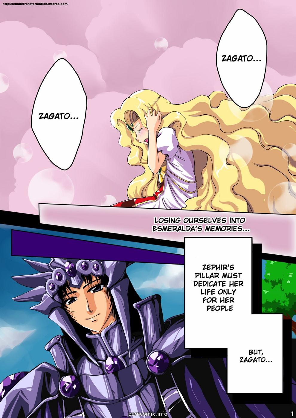 Zephir\'s Dark Secret (Magic Knight Rayearth)