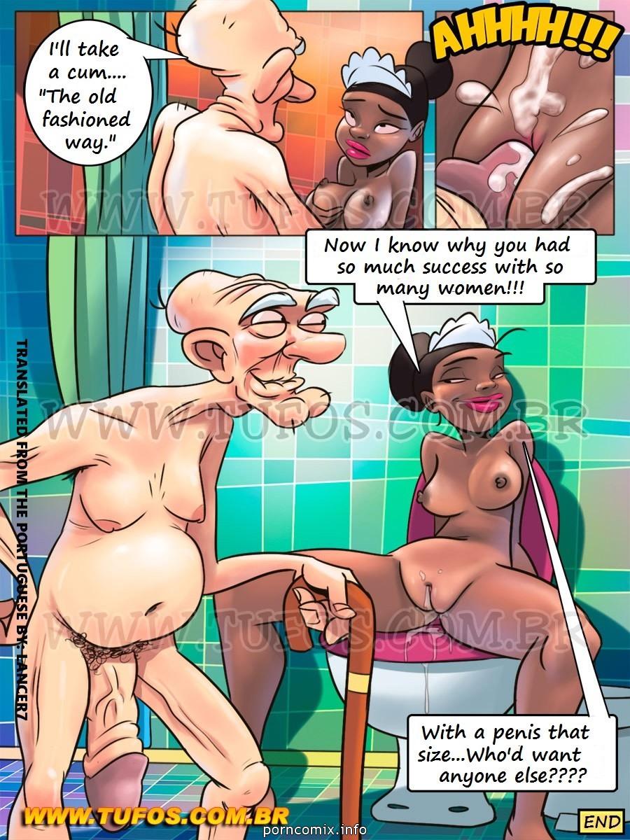 Family Sacana 7 - Giving Grandpa a Bath