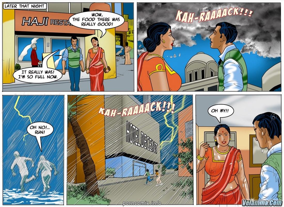 Velamma 55- Monsoon Poon