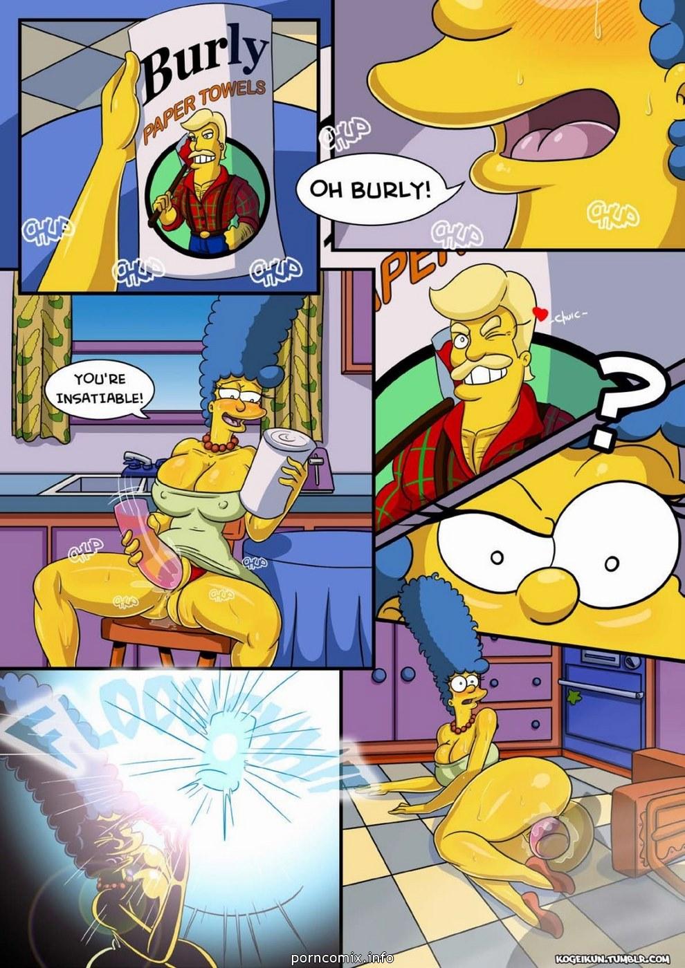 Marge\'s Erotic Fantasies-Simpsons