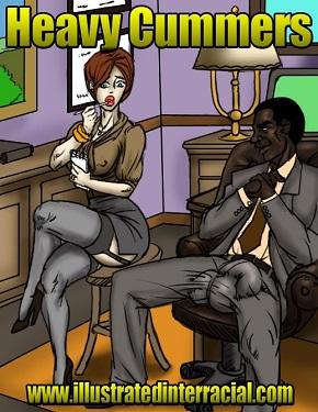 Heavy Cummers- Interracial
