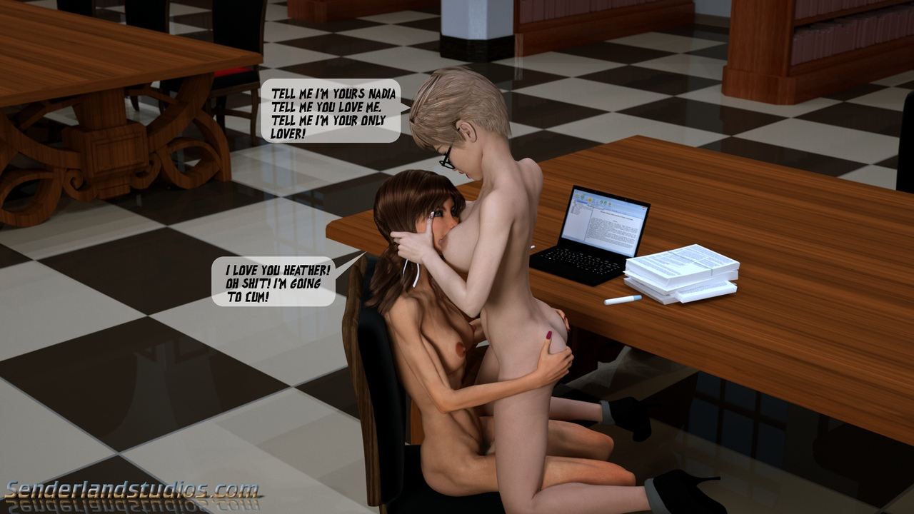 Heather In The Library - part 2