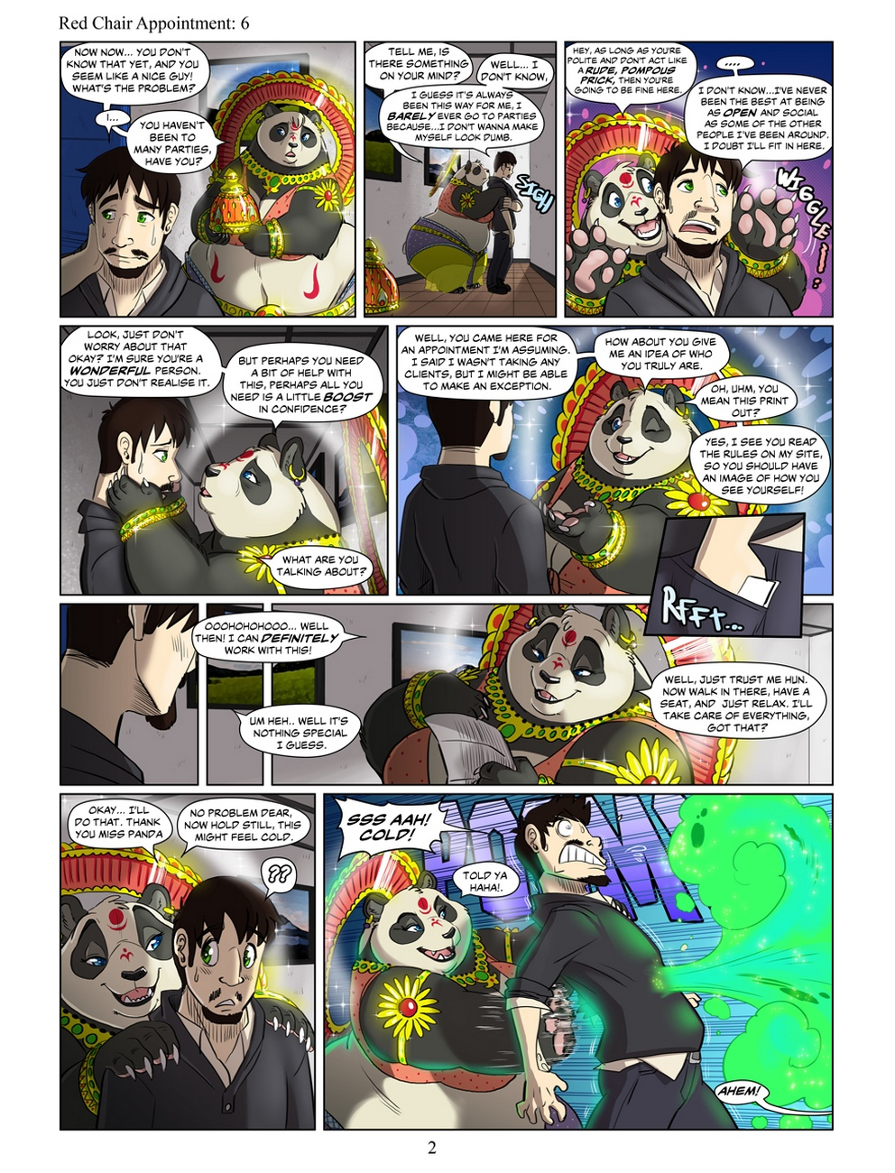 Panda Appointment 6