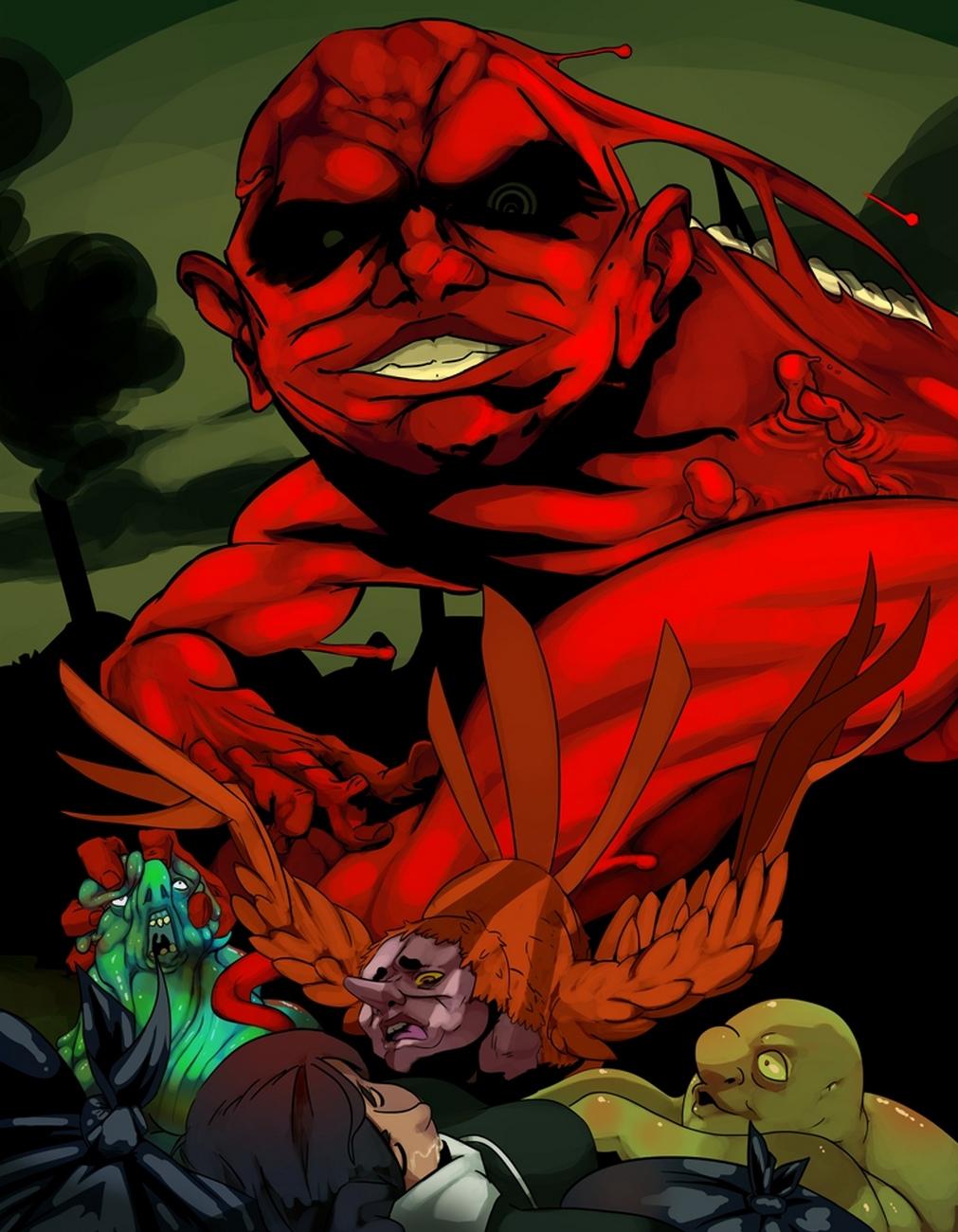 Red Hands 1
