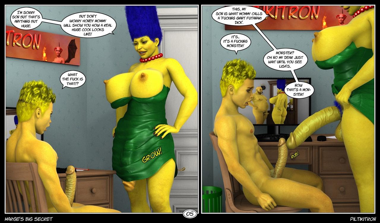 Marge\'s Big Secret