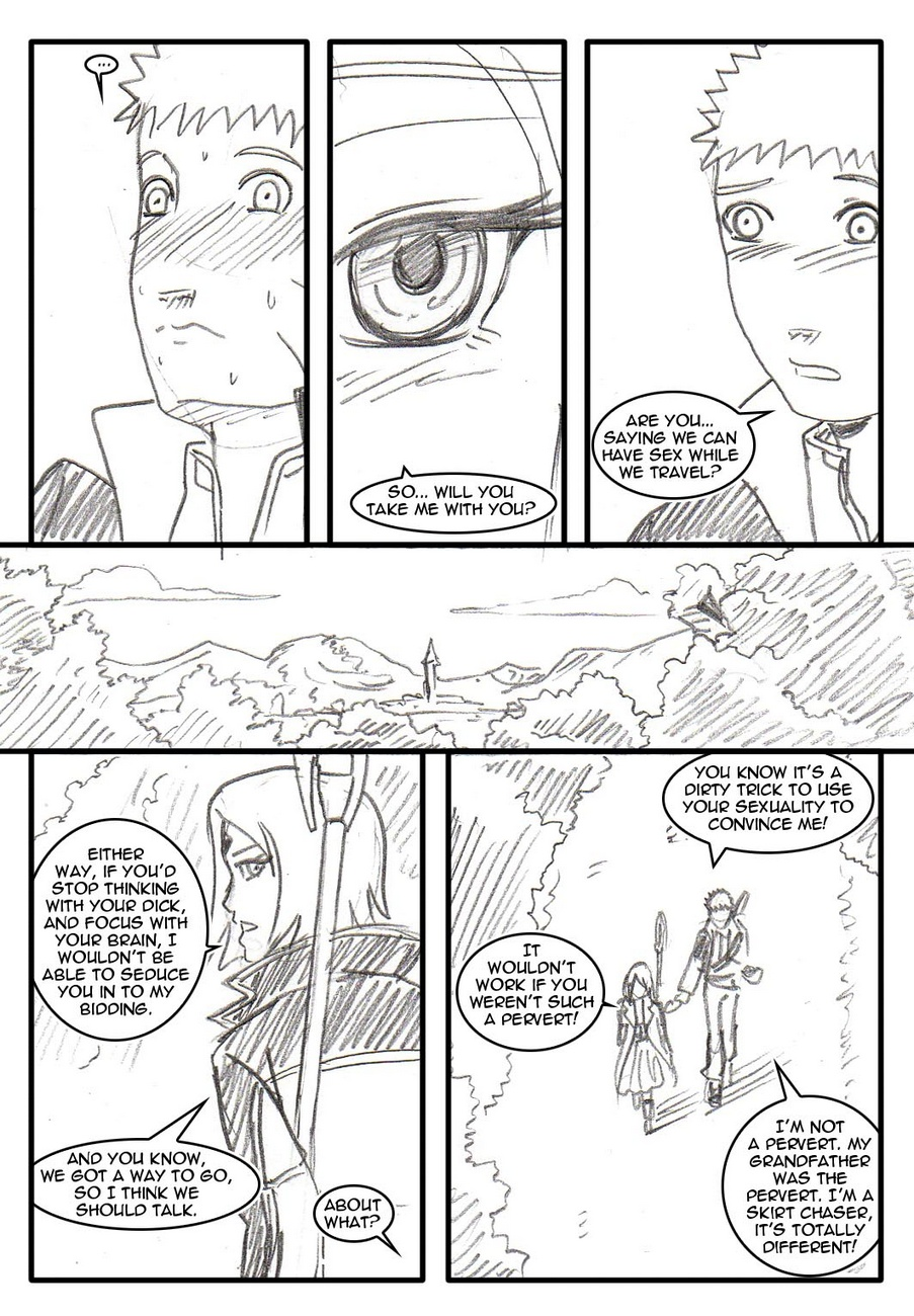 Naruto-Quest 3 - The Beginning Of A Jourch