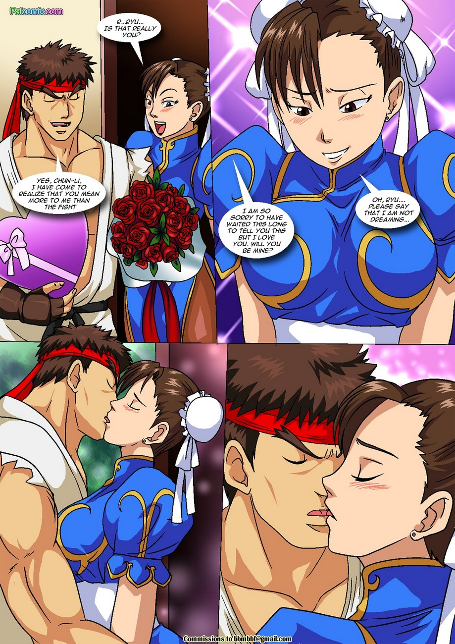 Vega vs Chun-Li 1 - Crotch Wars