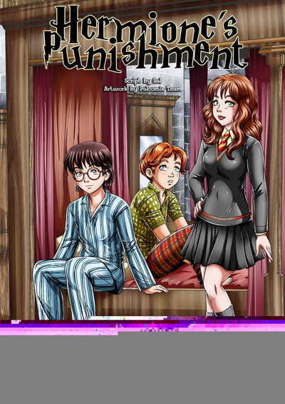 Palcomix Herminones Punishment Harry Potter English Rewrite