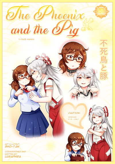 sho-tan The Phoenix and the Pig Touhou Project
