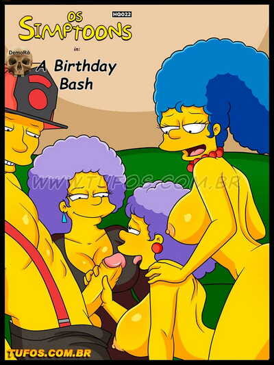 Tufos The Simpsons - The Birthday Bash The Simpsons