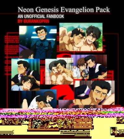BURANKOPRN Neon Genesis Evangelion Pack - An Unnoficial Fanbook