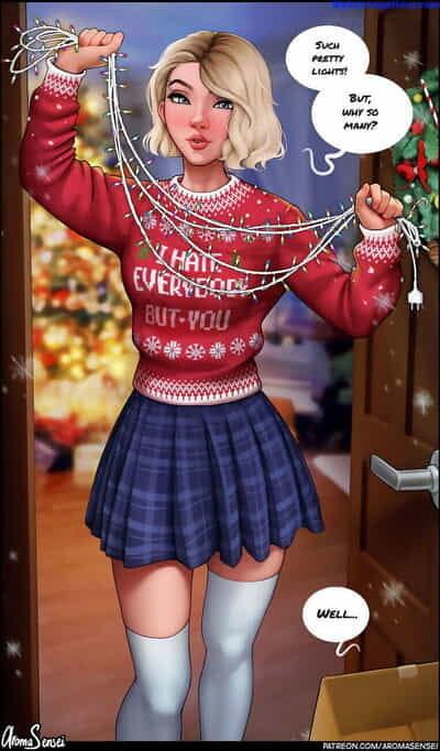 Gwen Celebrates Christmas!