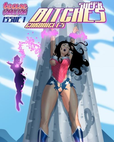 [TeaseComix (Dr Gasper)] Super Bitches (Wonder Woman)