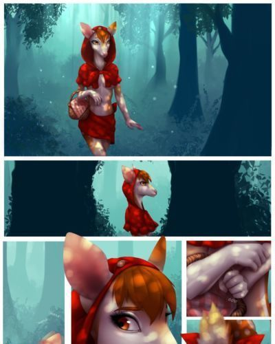 [Celeste] Little Red Riding Deer [WIP]