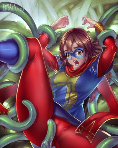 (Bokuman) Virtual Nightmare (Ms Marvel) -COMPLETE-