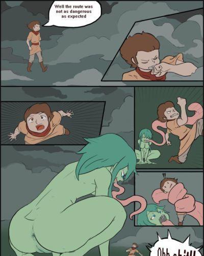 [ELBARDOCANTA ] Frog- vs Lizardgirl