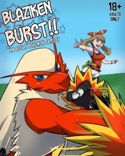 [Rainbow Flyer] Blaziken Burst!! (Pokemon)