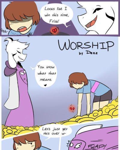[dezz] поклонение (undertale)
