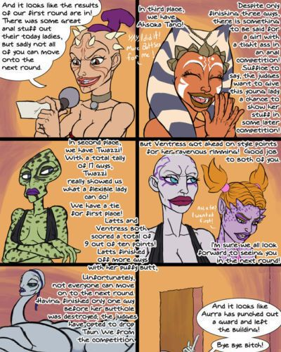 [Jose Malvado] Mos Eisley SuperSlut Competition (Star Wars) [Ongoing] - part 2