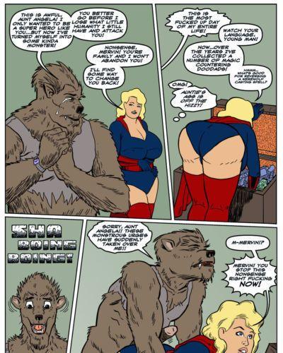 [Darrell San] Blonde Marvel - Mervin The Monster