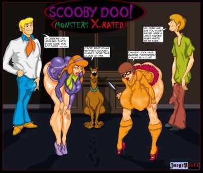 jaegerbite- Scooby doo! ปิศาจ x-rated